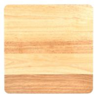 Just Grillin' Square Gripper Wood Concave Cutting Board