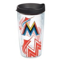 Tervis® MLB Miami Marlins Genuine 16 oz. Wrap Tumbler with Lid
