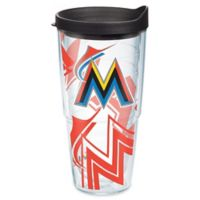 Tervis® MLB Miami Marlins Genuine 24 oz. Wrap Water Bottle with Lid
