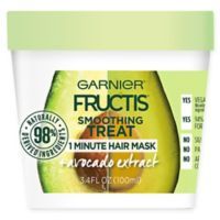 Garnier® Fructis® 3.38 fl. oz. Smoothing Treat 1 Minute Hair Mask + Avocado Extract