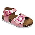 Laura Ashley® Size 3-6M Footbed Sandal in Pink