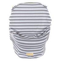 Balboa Baby® Multi-Use Car Seat Cover in Grey & White Stripe
