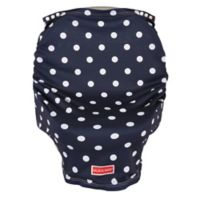 Balboa BabyR Multi Use Car Seat Cover In Navy White Stripe