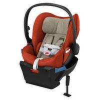 Cybex Platinum Cloud Q Plus Infant Car Seat In Autumn Gold