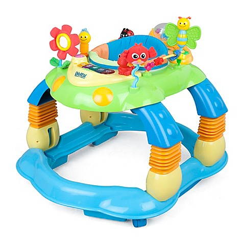 Delta lil play station ii 3 in 1 activity walker in blue for Baby play centre