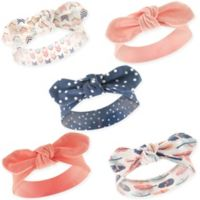 Hudson Baby® Size 0-24M 5-Pack Feathers Headbands