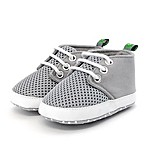 Stepping Stones Size 6-9M Mesh Sneaker in Grey