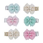 carter's® 6-Piece Tulle Bow Hair Clips