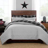 Pendleton® Skywalkers Quilted Twin Comforter Set in Grey