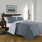 Cotton Denim Full/Queen Quilt Set