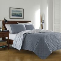 Cotton Denim King Quilt Set