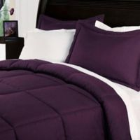 Clean Living Stain/Water Resistant 2-Piece Twin XL Comforter Set in Fig