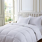 Clean Living Stain/Water Resistant 2-Piece Twin Comforter Set in White