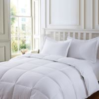 Clean Living Stain/Water Resistant 3-Piece Full/Queen Comforter Set in White