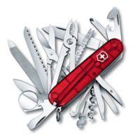 Victorinox Swiss Army SwissChamp 33-Function Knife in Ruby