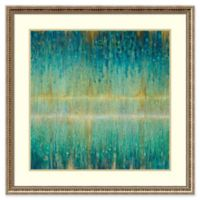 Amanti Art Rain Abstract I 33-Inch Square Framed Wall Art