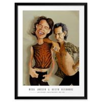 "Artography Limited Mick Jagger & Keith Richards 19"" x 25"" Wall Art"