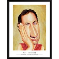 Artography Limited Pete Townshend 19-Inch x 25-Inch Framed Wall Art