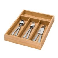 Honey-Can-Do® 4-Compartment Cutlery Tray