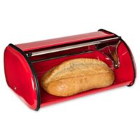 Honey-Can-Do® Retro Bread Box in Red