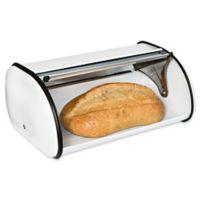 Honey-Can-Do® Retro Bread Box in Black