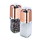 Honey-Can-Do®  2-Piece Salt and Pepper Mill Set in Rose Gold