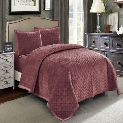 Fantastic Buy Velvet Quilts from Bed Bath & Beyond FA15
