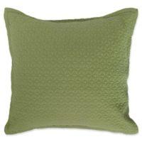 Manchester European Pillow Sham in Fern