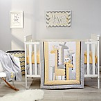 Little Love by NoJo® Giraffe Time 4-Piece Crib Bedding Set in Yellow