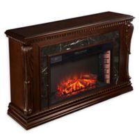 Southern Enterprises Stonecreek Electric Fireplace in Espresso