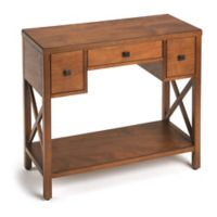 Butler Specialty Company Warren Console Table in Warm Caramel
