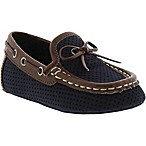 Kenneth Cole Size 3-6M Moccasin in Navy