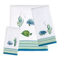 Saturday Knight Atlantis Hand Towel in White