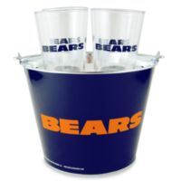 NFL Chicago Bears Tailgate Party Bucket and Pint Set