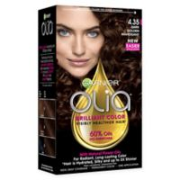 Garnier® Olia® Brilliant Color Permanent Color in 4.35 Dark Golden Mahogany