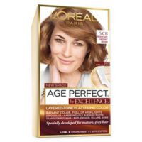 L'Oréal Paris Excellence Age Perfect Hair Color in Medium Soft Chestnut Brown