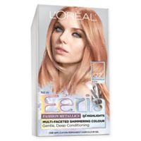 L'Oréal Paris Feria Fashion Metallics Hair Color in Medium Iridescent Blonde