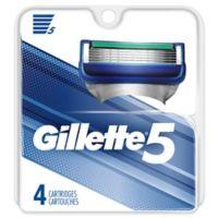 Gillette® 5 4-Count Men's Razor Blade Cartridge Refills
