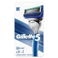 Gillette5® Men's Razor Handle with 2 Cartridges