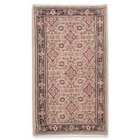 """ECARPETGALLERY Royal Mahal Hand-Knotted 3' x 5'3"""" Area Rug in Beige/Ivory"""