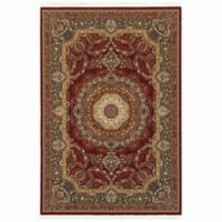 Oriental Weavers Masterpiece 3'10 x 5'5 Area Rug in Red