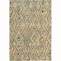 Oriental Weavers Nomad Woven 4' x 5'9 Area Rug in Ivory