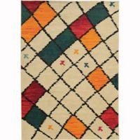 Oriental Weavers Nomad 7'10 x 10'10 Area Rug in Ivory