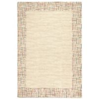 Dynamic Rugs Mehari East Side 2' x 3'11 Accent Rug in Ivory
