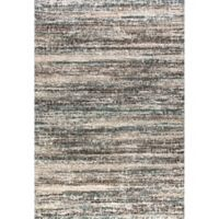 Dynamic Rugs Mehari Frequency 3'11 x 5'7 Area Rug in Blue