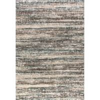 Dynamic Rugs Mehari Frequency 3'11 x 5'7 Area Rug in Black/White