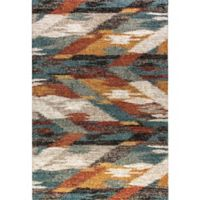 Dynamic Rugs Mehari Times Square 6'7 x 9'6 Multicolor Area Rug