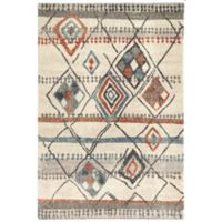 Dynamic Rugs Mehari Nomad 3'11 x 5'7 Area Rug in Ivory/Multicolor