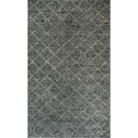 Dynamic Rugs Zest 2' x 4' Accent Rug in Charcoal/Grey