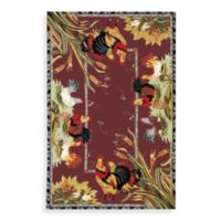"Safavieh Chelsea Collection Burgundy Wool 8' 9"" x 11' 9"" Rug"